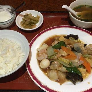 八宝菜定食(大連餃子房 )