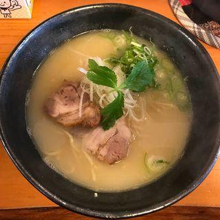 鳥白湯麺(コーチンベース)(麺屋 下心)
