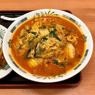 チゲ味噌ラーメン(日高屋 祖師谷大蔵店 )