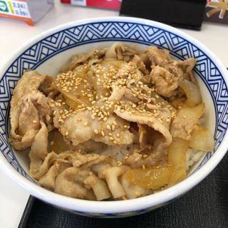 新味豚丼(並)