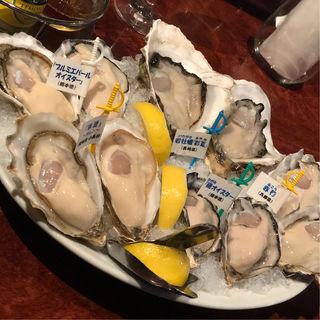 牡蠣五種盛り(ジャックポット 下北沢 (Jack-PoT))