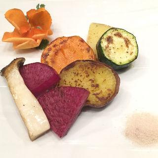 野菜盛り合わせ(鉄板焼いいさいいさ )