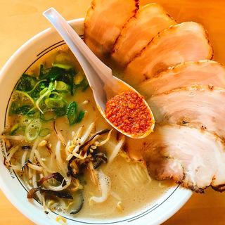 チャーシュー麺(かんしゃく魂 )