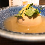名古屋コーチン半熟卵(鶏だしおでん さもん)