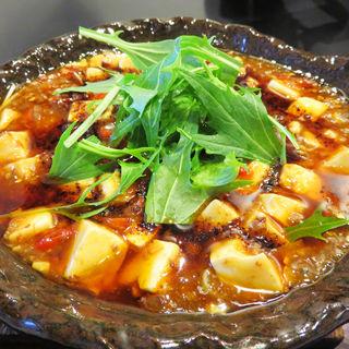 麻婆豆腐定食(麺や 菜)