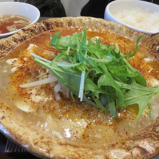 白い麻婆豆腐(麺や 菜)