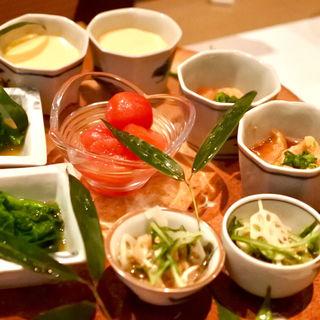 前菜5種盛り合わせ(2人前)(鶏割烹 ならや)