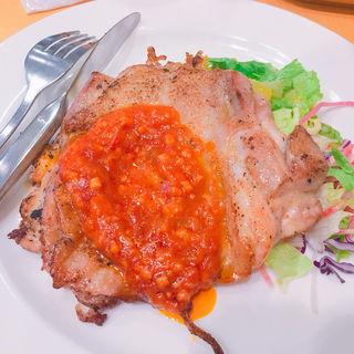 若鶏のグリル ガーリックソース(ガスト 阪急岡町駅前店  )