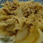 新味豚丼(アタマの大盛)