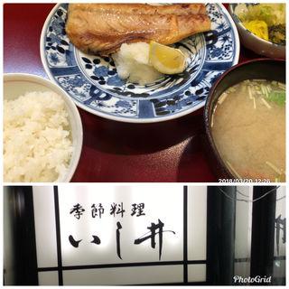 トロ鯖焼き定食(いし井 (イシイ))