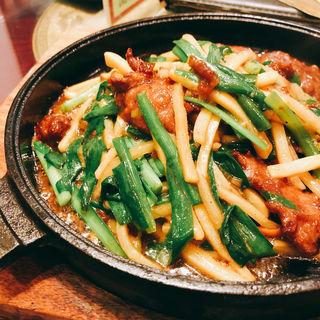 鉄板レバニラ定食(中華楼 本店 (チュウカロウ))