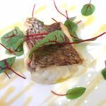 真鯛のキャラメリーゼ