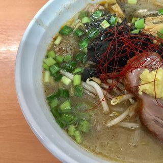 限定辛ホルモン味噌BLACK(麺屋 彩未 (さいみ))