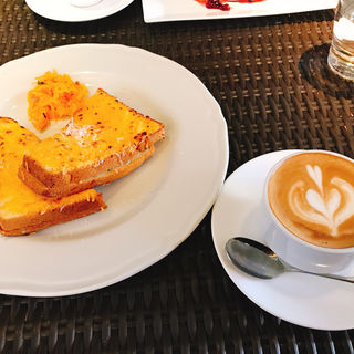 クロックムッシュ(347 cafe (サンヨンナナカフェ))