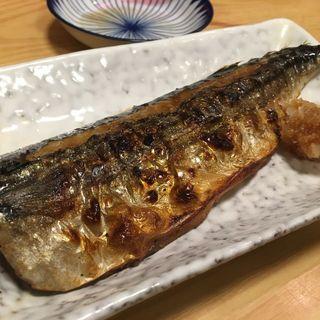 鯖の塩焼き(大露路)