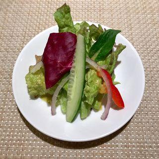 簡単なサラダ(アザミ)
