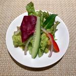 簡単なサラダ