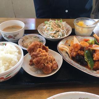 酢豚セット(台湾料理 全家福 )