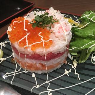 ミルフィーユ寿司(鮮彩えにし )