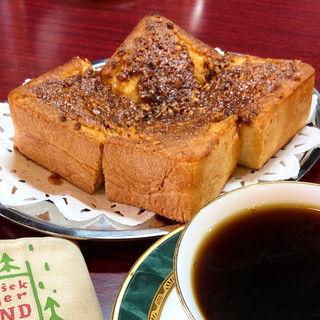 アーモンドトースト(喫茶パーチ )