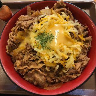 とろ〜り3種のチーズ牛丼 メガ(すき家 三鷹牟礼店 )