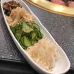ナムル(四種の味つけ野菜盛り合わせ)