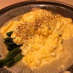 菜の花と卵スクランブル