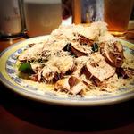 静岡産長谷川さん家のマッシュルームさっぱりサラダのパルミジャーノかけ