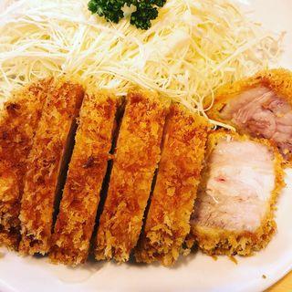 ロースかつ定食(とんかつ燕楽 (エンラク 池上))