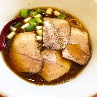 醤油らぁ麺(一盌 清右衛門)