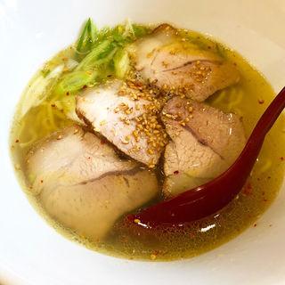 塩らぁ麺(一盌 清右衛門)