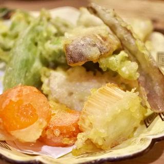 野菜の天ぷら(燗の美穂 )
