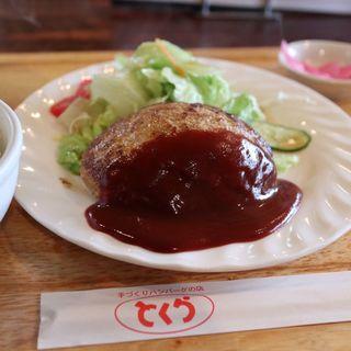 オリジナルハンバーグランチ180g(とくら (桂本店))