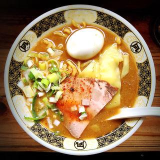 味玉煮干ラーメン(すごい煮干ラーメン凪 新宿ゴールデン街店本館 (【旧店名】ラーメン凪 煮干王))