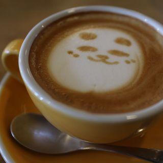 カフェラテ(ミックスパンダコーヒー)