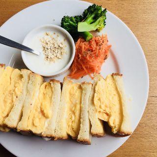 たまごのサンドイッチ(SONGBIRD COFFEE (ソングバード コーヒー))