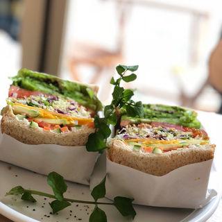 野菜のサンドイッチ(&sandwich.)