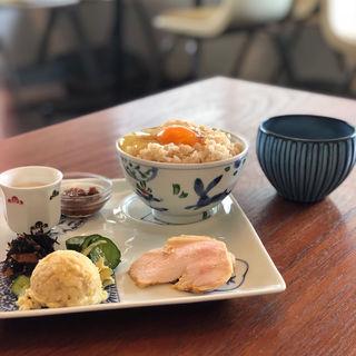 発酵卵かけご飯(福日和カフェ)