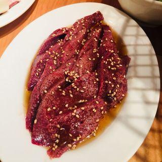レバー焼(炭火ホルモン焼 夏冬 御徒町店)