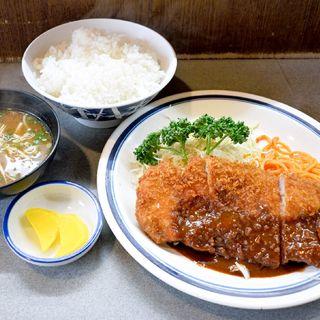 豚カツ定食(ベル )