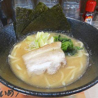 家系醤油ラーメン(横浜家系ラーメン アメ村家)