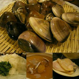 蛤鍋(季節の鍋 縁 (エニシ))
