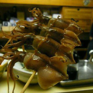 ホタルイカ炙り(和洋酒菜 ひで )