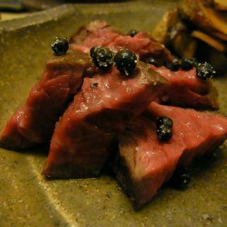 上州和牛のスペアリブ(和洋酒菜 ひで )