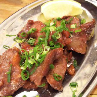 牛タンたれ焼き(串カツ田中 新川崎鹿島田店)