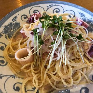 ヤリイカとたらこのスパゲティ(セラベン )