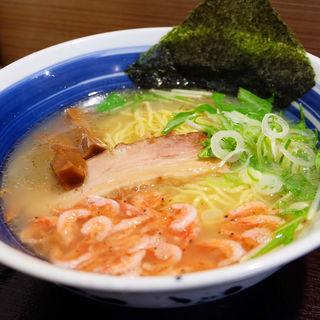 駿河湾産桜海老の塩ラーメン(麺屋 道神 )
