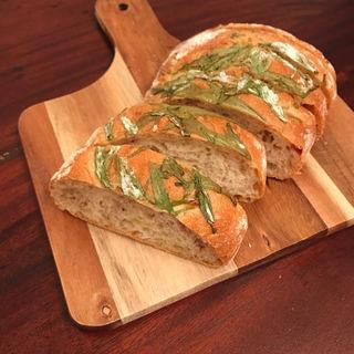 水菜と白ごまのチャバッタ(糖朝 玉川店 (トウチョウ))