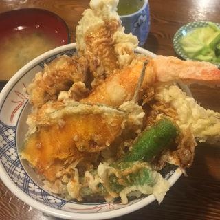 上天丼(天婦羅 うえじま (てんぷらうえじま))