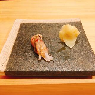 鯖の握り(鮨ばんど)